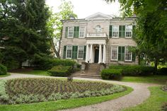 Whitehern Historic House #HamOnt Historic Homes, Mansions, House Styles, Home Decor, Historic Houses, Mansion Houses, Homemade Home Decor, Manor Houses, Fancy Houses