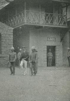 Andries Smorenburg outside Jamestown Gaol [Saint Helena Island Info:Boer Prisoners Saint Helena Island, St Helena, Ascension Island, The Old Days, Atlantic Ocean, Cemetery, Prison, The Outsiders, Saints