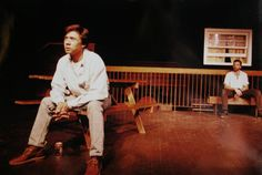 Supposedly, lightning never strikestwice in the same spot. But after 21 years apart, Calgary actors Barry Thorsonand Steve Gin are challenging that notion.  / In 1994, Thorson and Ginself-produced Harry Rintoul's searing AIDS drama Brave Hearts, set atypically in the backyard of aparty in Saskatoon. Equally...