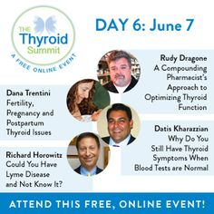 Only 2 days left! Learn for FREE! www.thethyroidsummitc.om