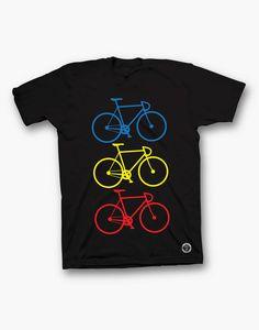 SPORT_Bicicleta tricolora negru Sports, Mens Tops, Archive, T Shirt, Hs Sports, Supreme T Shirt, Tee Shirt, Sport, Tee