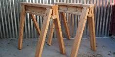 Scrap 2 x 4s can be found in any wood shed, and can be used to make sturdy and strong sawhorses in a matter of minutes.Every workshop needs at least one pair of sawhorses. They can be used as support for holding lumber or painting a door, with the help of some plywood, become an instant table. We'v