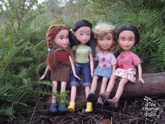 This group of friends have stopped for a chat while exploring in the beautiful Tasmanian bush.