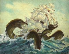 thrift store painting monsters - Yahoo! Search Results