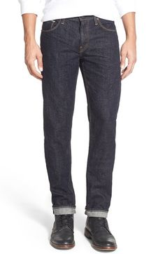 a8fddd714f20 J Brand  Kane  Slim Fit Selvedge Jeans (Fast Selvedge) available at