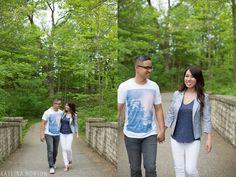 Joe + Julie: Inniswood Gardens Engagement Shoot