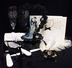 Corpse Bride wedding set