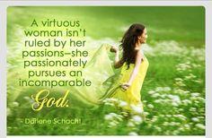 BE A VIRTUOUS WOMEN