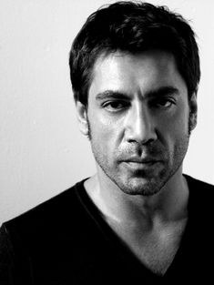 Javier Bardem - He's not conventionally good looking, but there's something about him!