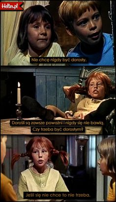 Cytaty Filmowe z Filmu Pippi Langstrumpf #polskie #cytaty #filmowe #popolsku #helter #filmy #kino #pippi #mądre #baśnie #książki #dorastanie