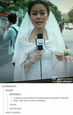 She looks kind of like Mulan (I'm not racist I promise I actually genuinely think she looks like Mulan)
