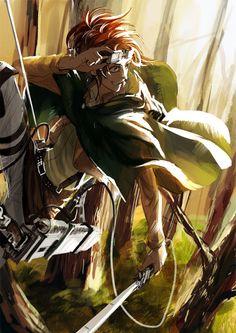 Hanji Zoe, Shingeki no Kyojin/Attack on Titan