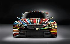Today, BMW and artist Jeff Koons unveiled the latest and BMW Art Car. The legendary art car created by Jeff Koons will race where the first rolling pieces of art by legendary artists raced – at the 24 Hours of Le Mans in France on and June Le Mans, Frank Stella, Car Images, Car Photos, Matte Black Bmw, 2010 Bmw M3, Pop Art, Lemans Car, Vw Touareg