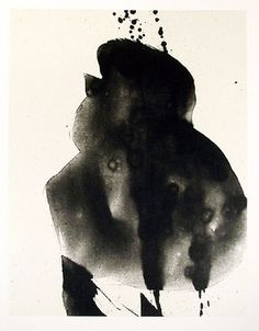 ROBERT MOTHERWELL - AT THIS HOUR - KUNZT.GALLERY http://www.widewalls.ch/artwork/robert-motherwell/at-this-hour/ #Print