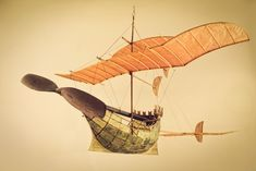 Ships That Sail Through the Clouds: Meet Luigi Prina, the 83 Year Old Builder of Flying Model Ships