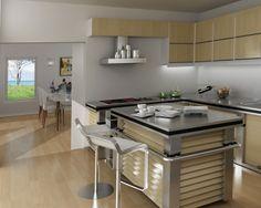 """""""Høvik 2"""" fra Systemhus Bar, Table, Furniture, Home Decor, Modern, Homemade Home Decor, Tables, Home Furnishings, Interior Design"""