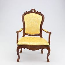 1:6 scale doll furniture  good hand-painted  armchair Barbie Blythe Handcrafted