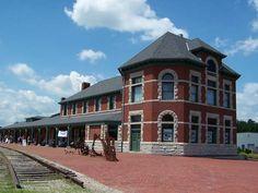 The Katy Depot in Sedalia, Missouri, USA   Link: http://www.katydepotsedalia.com/