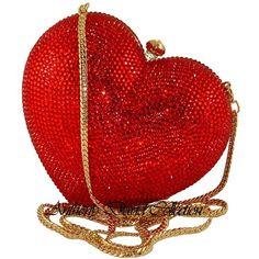 Happy Valentine's Day ~ Swarovski Crystal Handbags Evening Bags & Purses by Anthony David My Funny Valentine, Valentines, Purse Hanger, Vintage Purses, Beautiful Bags, Evening Bags, Purses And Handbags, Heart Shapes, Swarovski Crystals