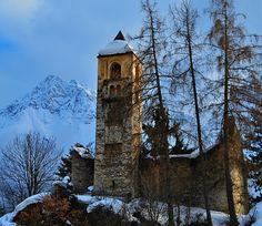 The Castle of Sent, Engadine, Switzerland