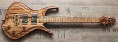 Nice guitars made by Zerberus Guitars from Speyerdorf, Rheinland-Pfalz, Germany