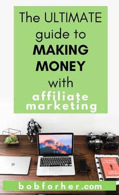 The Ultimate Guide to Making Money with Affiliate Marketing Social Marketing, Marketing Plan, Affiliate Marketing, Online Marketing, Marketing Strategies, Media Marketing, Make Money Blogging, How To Make Money, Business Tips