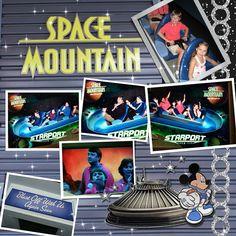 Space Mountain Spring Break 2010 - MouseScrappers - Disney Scrapbooking Gallery