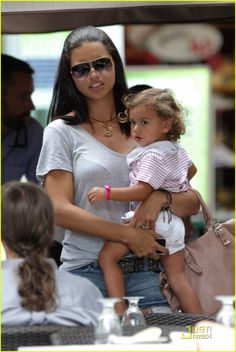 Adriana Lima Baby   Adriana Lima: Family Fun in Miami!   Adriana Lima, Celebrity…