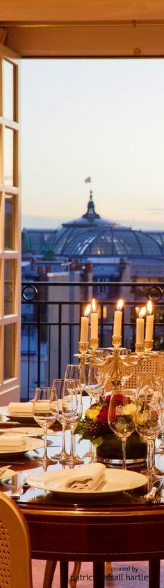 Candlelight Dinner @ Le Bristol / Paris