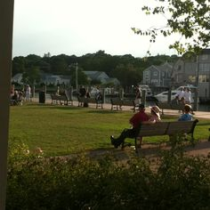 An evening in Mystic, CT