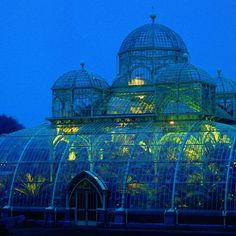 House Remodeling Is Residence Improvement The Royal Greenhouses Of The Palace Of Laeken In Brussels. The Places Youll Go, Places To Go, Dome Greenhouse, Le Palais, Conservatory, Indoor Outdoor, Beautiful Places, Scenery, Castle