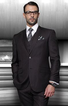 Statement Suits - Summer 2014 STZV - 300 - BLACK #MensSuits #MensFashion #Suits #SundaysVeryBest