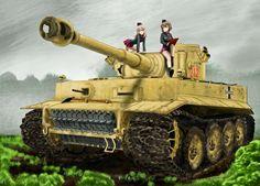 girls und panzer pic free (Godwin Blare 1391x1000)