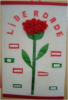 Resultado de imagem para atividades da revolução 25 abril para crianças