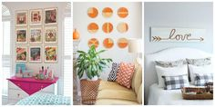 17 DIY Ideas for Decorating Your Walls  - CountryLiving.com