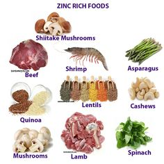 ZINC MINERAL HEALTH BENEFITS, DEFICIENCY AND RICH FOODS