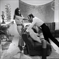 Charles Aznavour  et Dalida In France  October 03, 1967