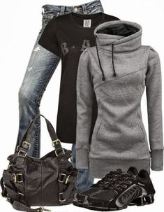 Great Sporty Outfit for Woman, Winter Style