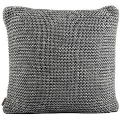 "UGG® Snow Creek Cushion Cover - 20"" - Granite ($96) ❤ liked on Polyvore featuring home, home decor, throw pillows, grey, gray accent pillows, ugg australia, grey throw pillows, gray throw pillows and grey home decor"