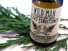 Beard Conditioner Oil Wild Man Beard Softener Beard Oil ( Rose Rose Young im getting this as part of erics xmas gift lol. Beard Softener, Beard Conditioner, Flaky Skin, Beard Grooming, Therapeutic Grade Essential Oils, Perfume, Beard Care, Beard Oil, Lip Tint