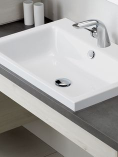 Our Puro Inset Countertop Washbasin An Elegant Rectangular