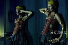 Kate Moss for Alexander McQueen spring/summer 2014 ad campaign