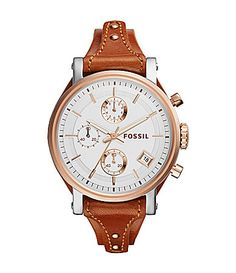 Fossil Ladies Original Boyfriend Chronograph Watch #Dillards
