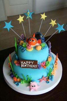 nemo birthday cakes | Nemo Birthday Cake - Sugar Pie Gourmet Cakes & Classes