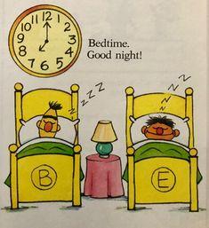 Sesame Street Books, Bert & Ernie, I Remember When, Jim Henson, 90s Kids, Inner Child, Bedtime, Good Night, Happy Life