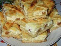 Tento recept je náš rodinný klenot: Jemný a fantasticky chutný tvarohový koláč s rozinkami!