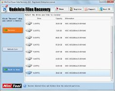 By using professional data recovery software, you can undelete data for Windows easily and completely. In the process of deleted data recovery, users do not need to worry about data security