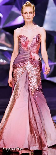 Abed Mahfouz Haute Couture Spring Summer 2009