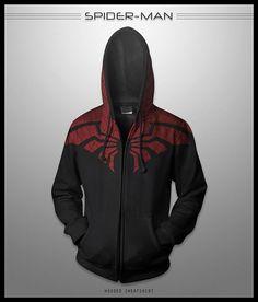 Superhero Hoodies - Spiderman Top Hoodie