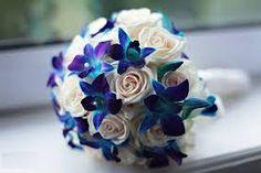 Image result for blue wedding bouquets